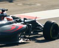 De Grand Prix F1 2016 van McLarenhonda Stock Fotografie