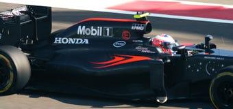 De Grand Prix F1 2016 van McLarenhonda Royalty-vrije Stock Afbeeldingen