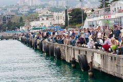 De Grand Prix Powerboat P1 2010 van Yalta Royalty-vrije Stock Foto's
