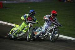 De Grand Prix van de speedwaybaan in Praag Stock Afbeeldingen