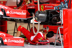 De Grand Prix 2015 van Formule 1 Gulf Air Bahrein Stock Foto