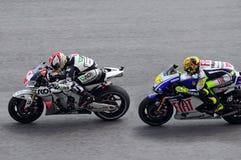 De Grand Prix van Moto Royalty-vrije Stock Afbeelding
