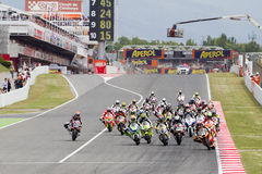 De Grand Prix van Moto Stock Foto