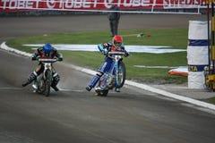 De Grand Prix van Speeway in Praag Stock Fotografie
