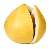 De grapefruit van de pompelmoes royalty-vrije stock foto's
