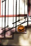 De grappige Halloween pompoen van Nice Royalty-vrije Stock Afbeeldingen