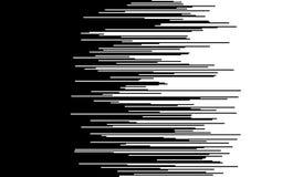 De grappige horizontale achtergrond van snelheidslijnen Stock Foto's
