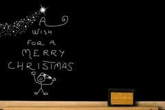 De grappige Kaart van de Kerstmisgroet Stock Fotografie