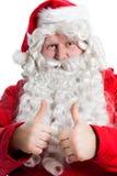 De grappige Kerstman Stock Afbeeldingen