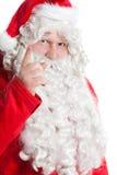 De grappige Kerstman Stock Foto's
