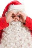 De grappige Kerstman Royalty-vrije Stock Afbeelding