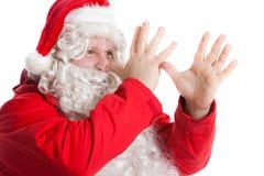 De grappige Kerstman Royalty-vrije Stock Afbeeldingen