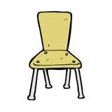 de grappige stoel van de beeldverhaal oude school Royalty-vrije Stock Foto