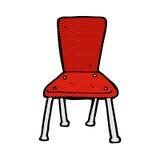 de grappige stoel van de beeldverhaal oude school Stock Foto's