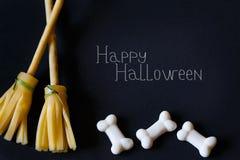 De grappige traktaties van Halloween royalty-vrije stock afbeeldingen