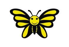 De grappige vector van het vlinderontwerp stock illustratie
