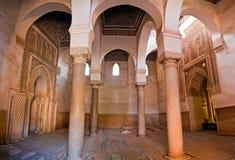 De graven Saadian in Marrakech stock foto