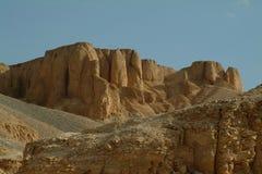 De Graven in de vallei van de koningen zonder mensen, Thebes, Unesco-de Plaats van de Werelderfenis, Egypte, Noord-Afrika royalty-vrije stock afbeeldingen