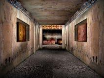 De graven van Eygpt 1 royalty-vrije stock foto's