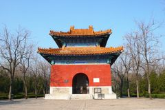De Graven van Ming stock afbeelding