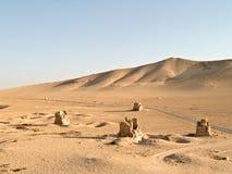 De graven van Palmyra stock fotografie