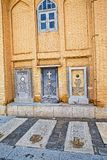 De graven van de Vankkathedraal stock foto's