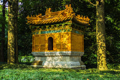 De Graven van Xiaoling van Ming in Nanjing China stock afbeelding