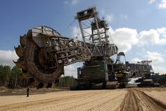 De graver van de steenkool Stock Fotografie