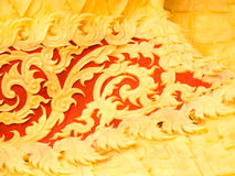 De gravure van de kaarswas Royalty-vrije Stock Afbeeldingen