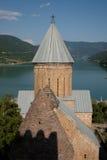 De Gravure van de steen. De Kerk van Ananuri. Georgië Royalty-vrije Stock Afbeelding
