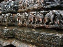 De gravure van de tempel royalty-vrije stock foto's