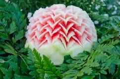De gravure van de watermeloen Royalty-vrije Stock Foto