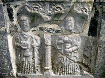 De Gravure van het graf Stock Foto