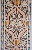 De gravure van het kalksteen - architecturaal detail Stock Fotografie