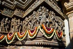 De Gravures van de Jaintempel royalty-vrije stock foto's