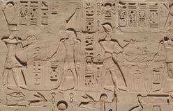De Gravures van Luxor stock foto's
