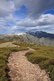 de gredos toppig bergskedja Royaltyfri Fotografi