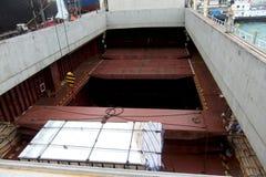 De Greep van bulkladingenschip Stock Fotografie