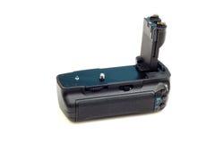 De greep van de de camerabatterij van Dslr royalty-vrije stock foto