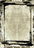De grens en de achtergrond van Grunge Royalty-vrije Stock Afbeelding