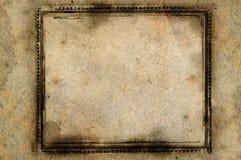 De grens en de achtergrond van Grunge Royalty-vrije Stock Afbeeldingen