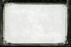 De grens en de achtergrond van Grunge Stock Foto