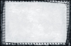 De grens en de achtergrond van Grunge Royalty-vrije Stock Foto's