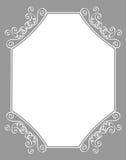 De grens/het frame van de uitnodiging Royalty-vrije Stock Fotografie