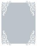 De grens/het frame van de uitnodiging Stock Foto's