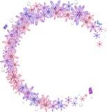 De grens van de bloem Royalty-vrije Stock Foto