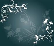 De grens van de bloem stock illustratie