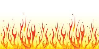 De grens van de brand Stock Afbeelding