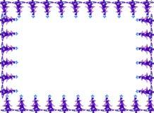 De grens van de de groetkaart van Kerstmis Stock Afbeelding