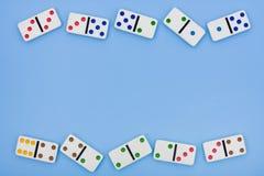 De Grens van de domino Stock Afbeelding